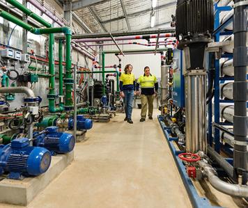 Hawker desalination plant